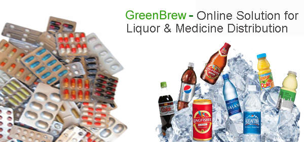 online Liquor and Medicine Distribution