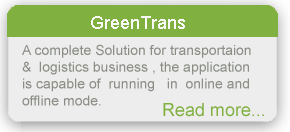 Transportaion & logistics Software running online & offline mode